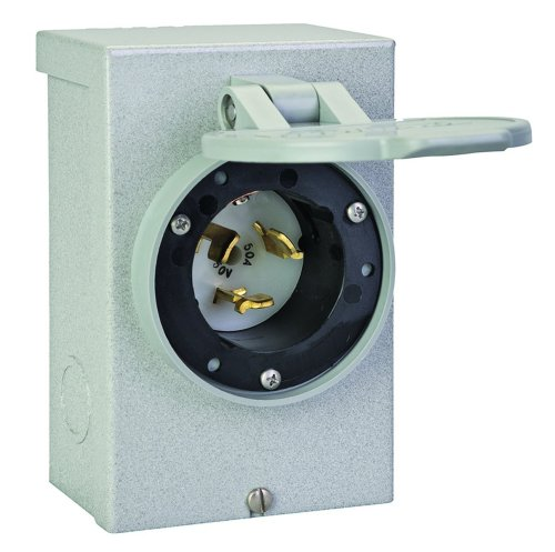 Reliance Controls PB50 50-Amp (CS6375) NEMA 3R Power Inlet Box