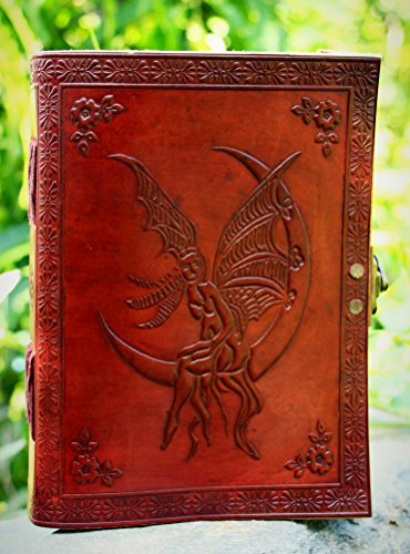 Angel Leather Journal Diary Notebook for Writing Leather Diary Handmade Leather Journal (Journal Angel The)
