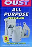 Oust - All Purpose Descaler 3x25ml