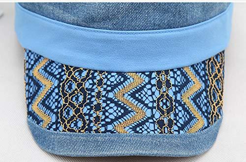 Souples Unique Bleu Acvip Femme Casquette Taille wPYxI7Sq