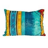 zry_dlifa Southwest Cool Oversized Faux Mink Floor Cushions - Southwestern Print