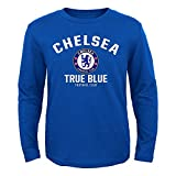 """Chelsea F.C. Youth """"First Choice"""" Long Sleeve T-shirt - Blue (Youth Large 14/16)"""