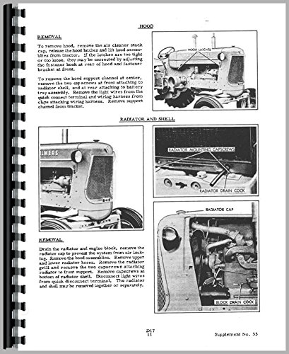 - Allis Chalmers D17 Tractor Service Manual (all serial numbers)