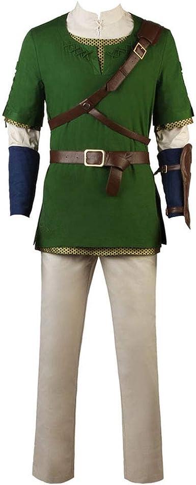 The Legend of Zelda Zelda Link Cosplay Costume
