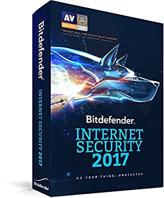 Bitdefender Internet Security 2017 | 1 PC, 1 Year | Download [Online Code]