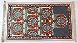 Prayer Rugs Sajda Rugs Sajjadah - IslamicTurkish Muslim Prayer Rugs Musalla Janamaz Prayer Mat Sajjadah Rug Prayer Carpets (Sultan Crown)