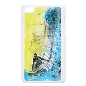 Ipod Touch 4 Cases Surf Art, Surf Cases Doah, {White}