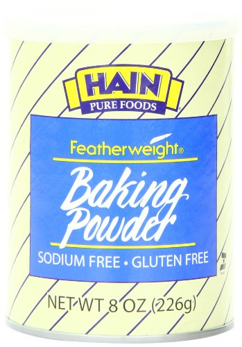 herweight Baking Powder, 8 Ounce (Gluten Free Baking Soda)