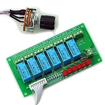 electronics-salon estéreo no equilibrado de 6 canales