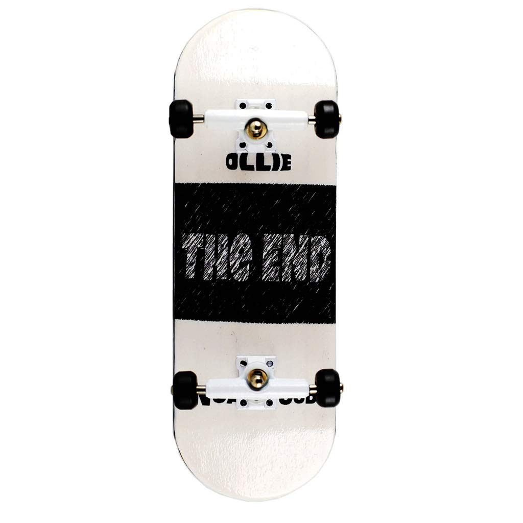 NOAHWOOD Wooden PRO Fingerboards (Deck,Truck,Wheel / a Set) (The Ollie End) by NOAHWOOD