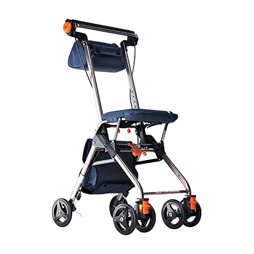HSRG Carro Andador para Ancianos, Andador con Asiento ...