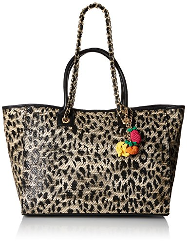 Betsey Johnson Mighty Jungle Large Tote, ()