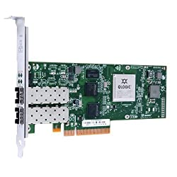 QLogic QLE8242-SR Dual Port 10GbE PCIe FCoE & iSCSI Converged Network Adapter with SR Optical Transceiver