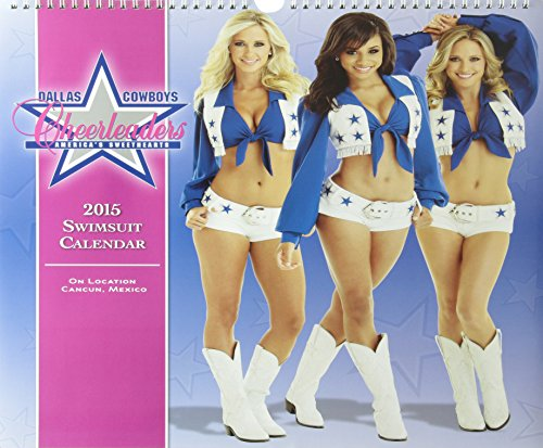 Dallas Cowboy Cheerleaders 2015 Swimsuit Calendar
