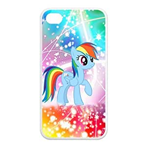 Fantastic Cartoon My Little Pony Design TPU Protective Case For Iphone 4 4s iphone4s-81608