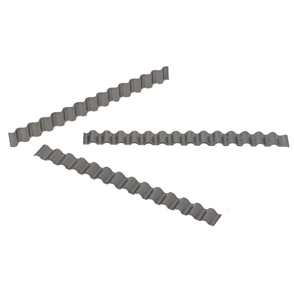 Wellenverbinder Rissbr/ücke Gie/ßharz Epoxi Estrichverbinder SBS Estrichklammern 50 St/ück gewellt 70 x 6mm