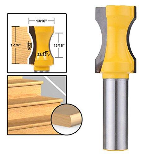 Radius Convex Column Router Bit 1/2 Inch Shank Woodworking Milling - Drill Bits Router Bit - 1 x Router bit