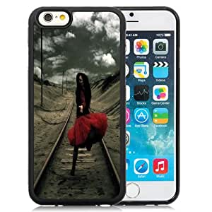 Fashion DIY Custom Designed iPhone 6 4.7 Inch TPU Phone Case For Girl Running Away From Problems Phone Case Cover