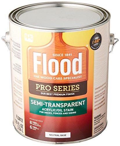 FLOOD/PPG ARCHITECTURAL FIN FLD812-01 Pro NTRL Base Stain, 1 gallon (Ntrl Base)
