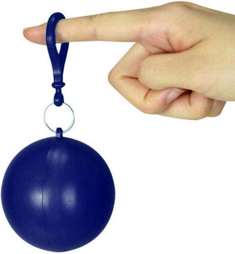 happygirr Chubasquero desechable, Forma de Bola, Caja para ...