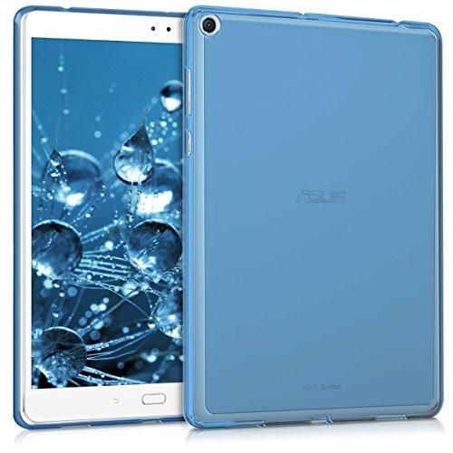 kwmobile Asus ZenPad 3S 10 (Z500M) Case - Crystal TPU Cover for Asus ZenPad 3S 10 (Z500M) - Dark Blue