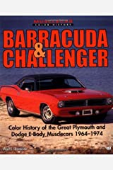 Barracuda and Challenger (Muscle Car Color History) Paperback