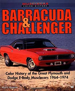 The definitive barracuda challenger guide 1970 1974 scott e barracuda and challenger muscle car color history fandeluxe