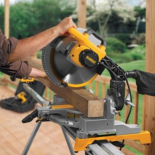 Dewalt Dw715 15 Amp 12 Inch Single Bevel Compound Miter