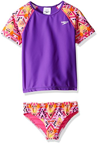 Girls Rash Guard Swimwear - 8
