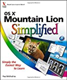 OS X Mountain Lion Simplified, Paul McFedries, 1118401417