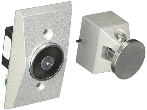 Holder Door Mount Flush Wall (Edwards Signaling 1504-AQN5 Electromagnetic Door Holder Flush Wall Mount)