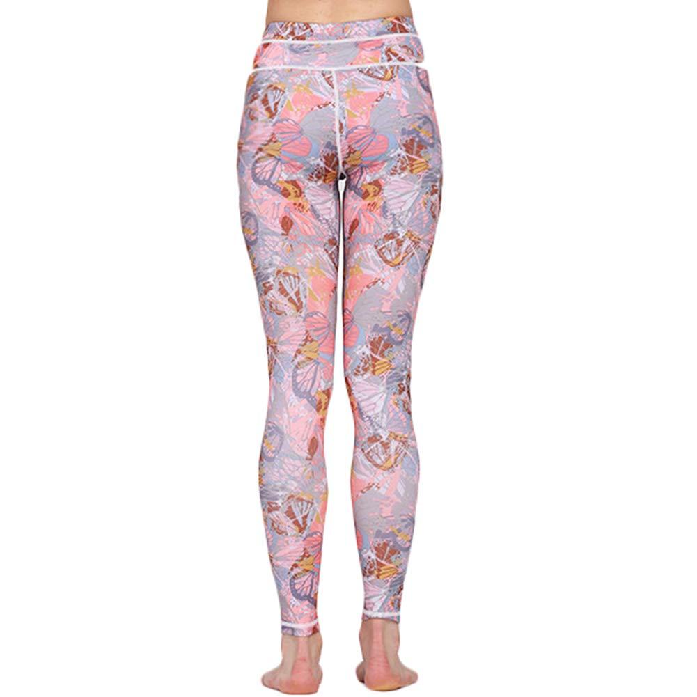 Kentop Leggings Sportivi da Donna, per Yoga, Vita Alta, per Palestra