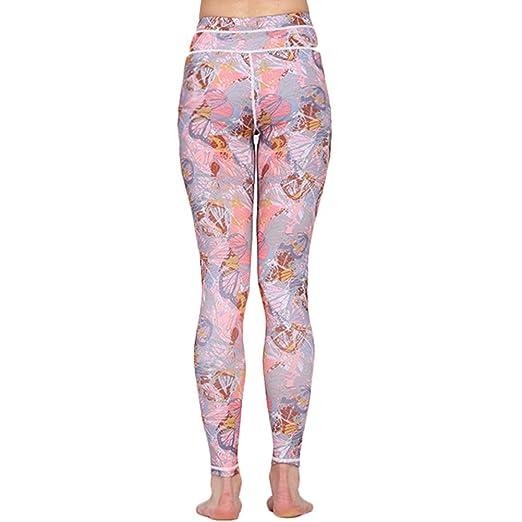 Kentop - Leggings de Yoga para Mujer, Cintura Alta ...