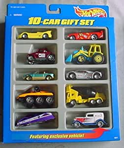 Hot Wheels 10-Car Gift Set Toys R Us Exclusive Midnight Otto