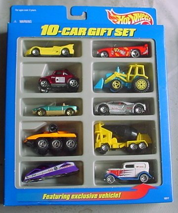 Amazon Com Hot Wheels 10 Car Gift Set Toys R Us Exclusive Midnight