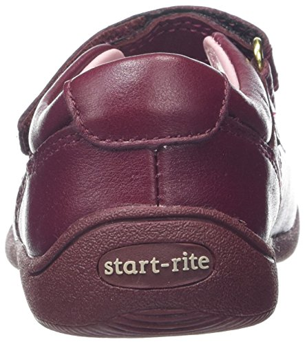 Start Rite Supersoft Daisy, Merceditas Para Niñas Vino Tinto) (Wine)