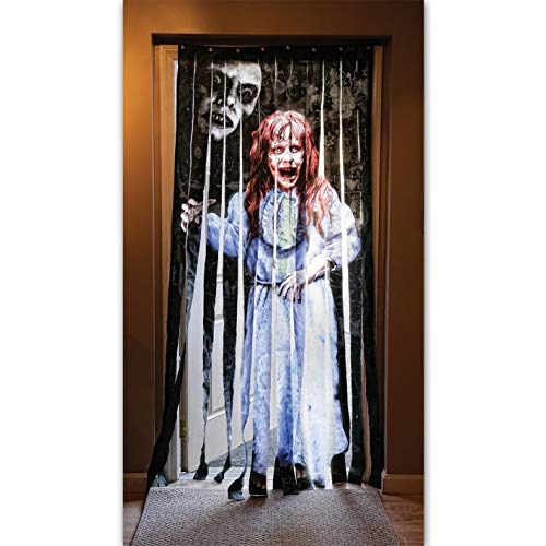 Morbid Enterprises The Exorcist Doorway Drape, Multi-Color, One Size