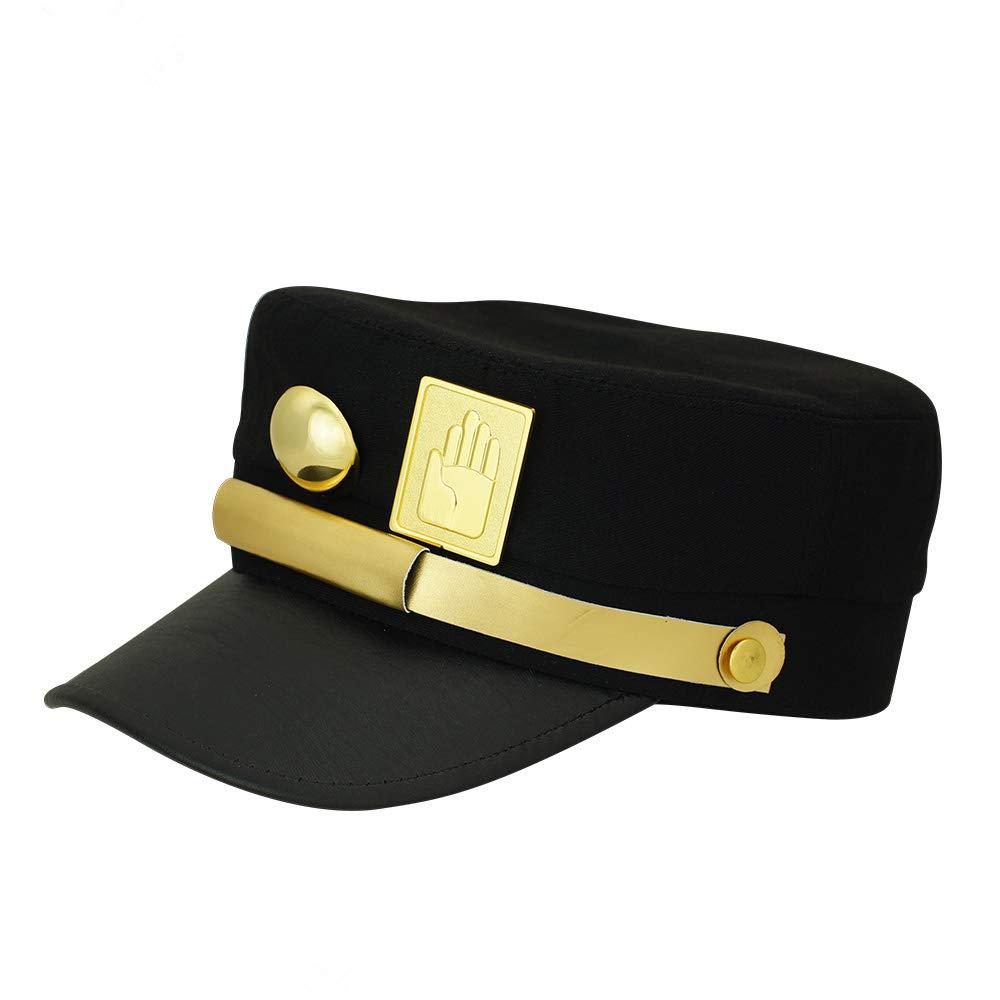 ebadae7e3 Lonme JoJos Hats jojo's Bizarre Adventure Hat Jotaro Kujo Hat Visored Props  Peaked Women Baseball Caps