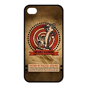 Calvin&Hobbes iPhone 5s Cases TPU Rubber Hard Soft Compound Protective Cover Case for iPhone 5 5s
