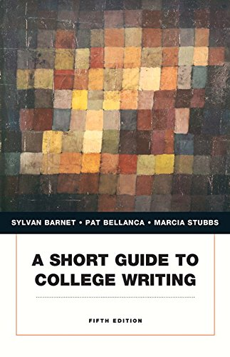 Short Guide To College Writing