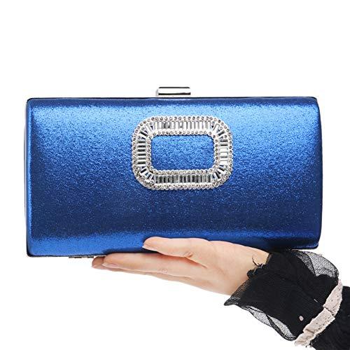 Bandouliere 32 11 Fête Pour Chaîne Maquillage Santimon 04cm Femmes 12 4 Soirée Blue 21 Bourse Clutch Main À Bal Mariage Pochette Sac wU8qH