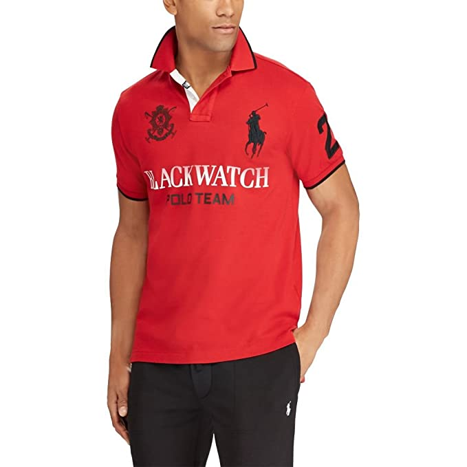 Ralph Lauren - Polo - para Hombre Ralph Red Large: Amazon.es: Ropa ...