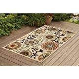 Floral Suzani Outdoor Rug,60x87