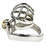 FeiGu Male Stainless Steel Chastity Cage Device 146 (50mm Ring)