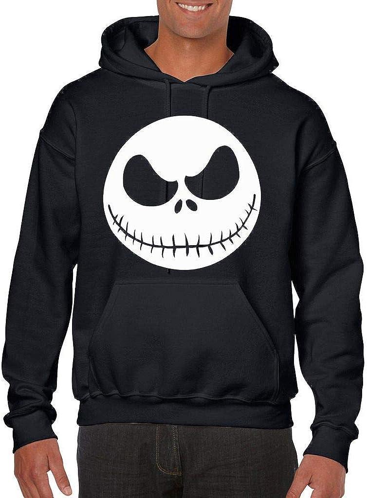 Jack Skellington Hoodie Nightmare Before Christmas Mens Youth Boys Hooded Pullover Sweater S-5XL