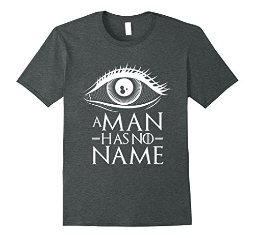 Man With No Name Costumes (Mens A Man Has No Name Costume Halloween T-Shirt Gift 3XL Dark Heather)