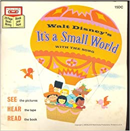 Walt disneys its a small world with the song walt disney amazon walt disneys its a small world with the song walt disney amazon books publicscrutiny Images