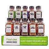 FreshJax Premium Organic Gourmet Spice Gift