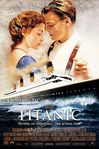 Posters USA Titanic Movie Poster GLOSSY FINISH - MOV250 )