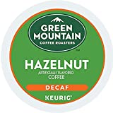 Green Mountain Coffee Roasters Hazelnut Decaf Keurig Single-Serve K-Cup Pods, Light Roast Coffee, 72 Count (6 Boxes of 12 Pods)
